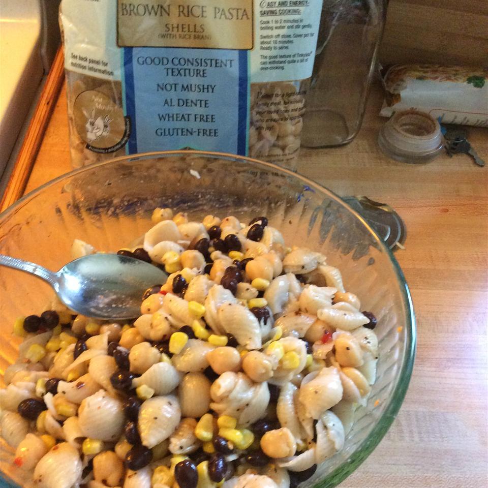 Zesty Southern Pasta and Bean Salad Deborah McAlpine