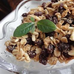 Almond Maple Granola larkspur