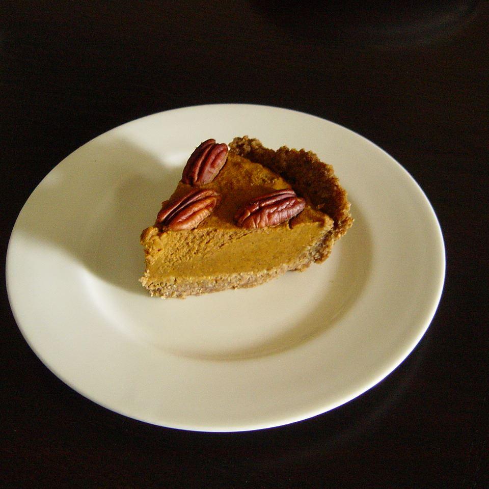 Pumpkin Tart With Pecan Crust