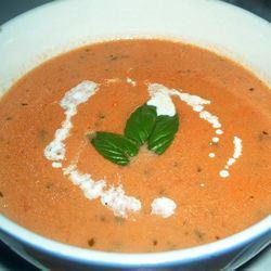 Rich and Creamy Tomato Basil Soup
