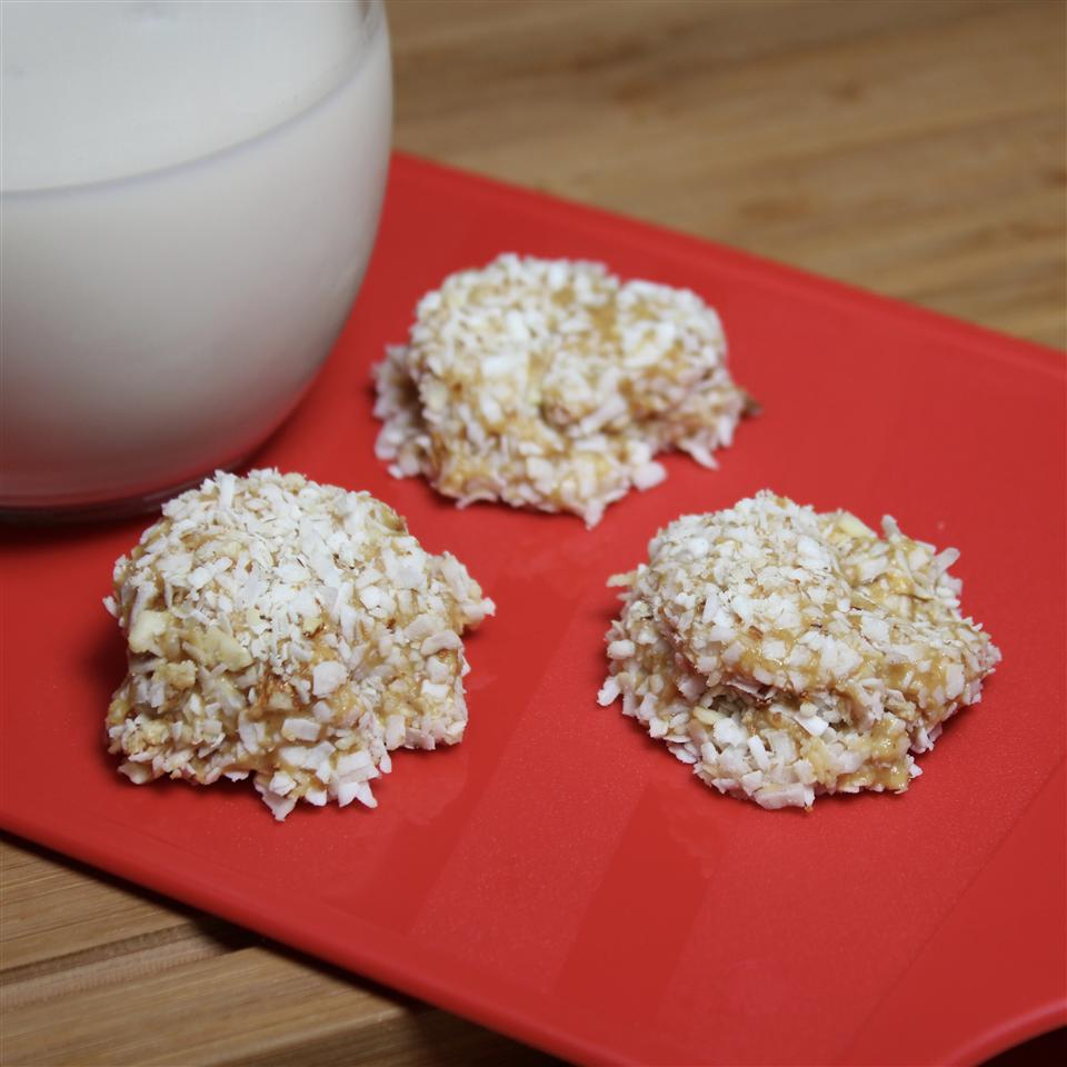 Awesome  No-Bake  Almond Coconut Balls