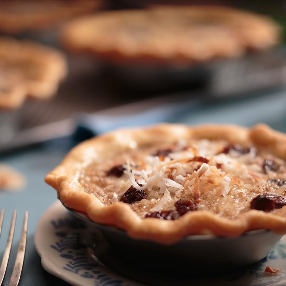 Raisin & Rice Mini Pies