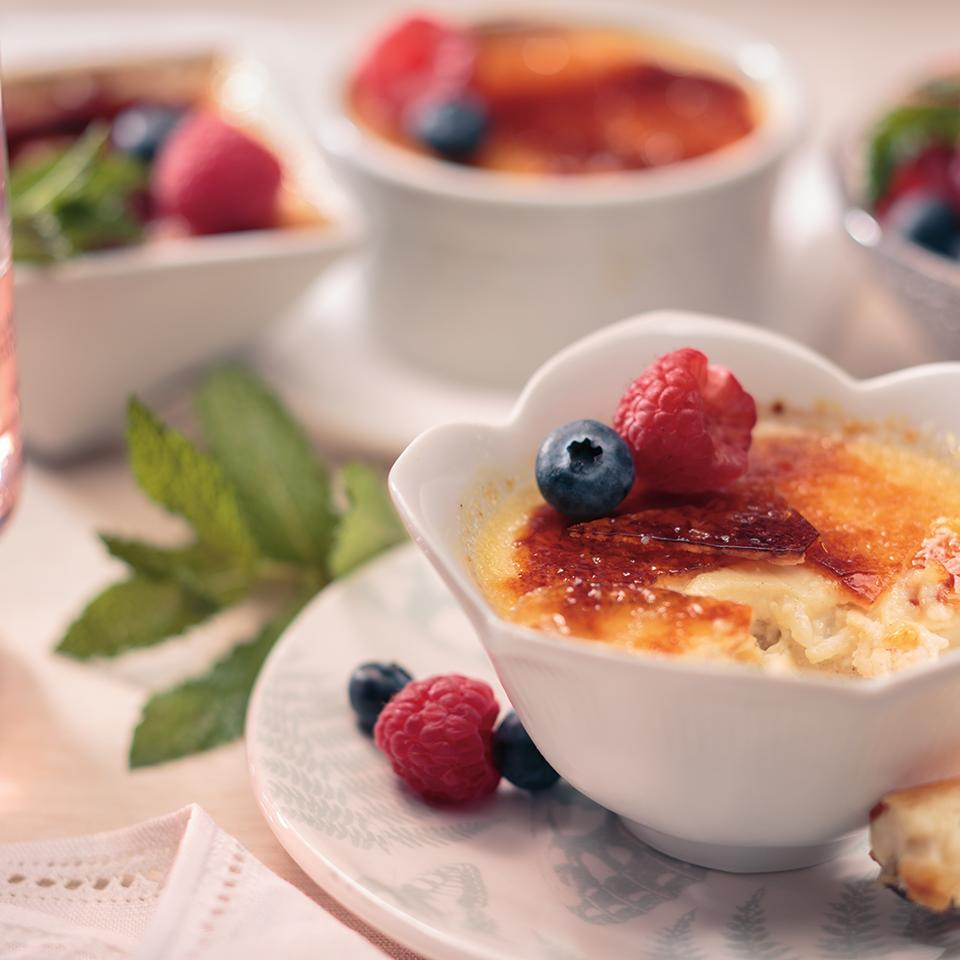 Creme Brulee Rice Pudding