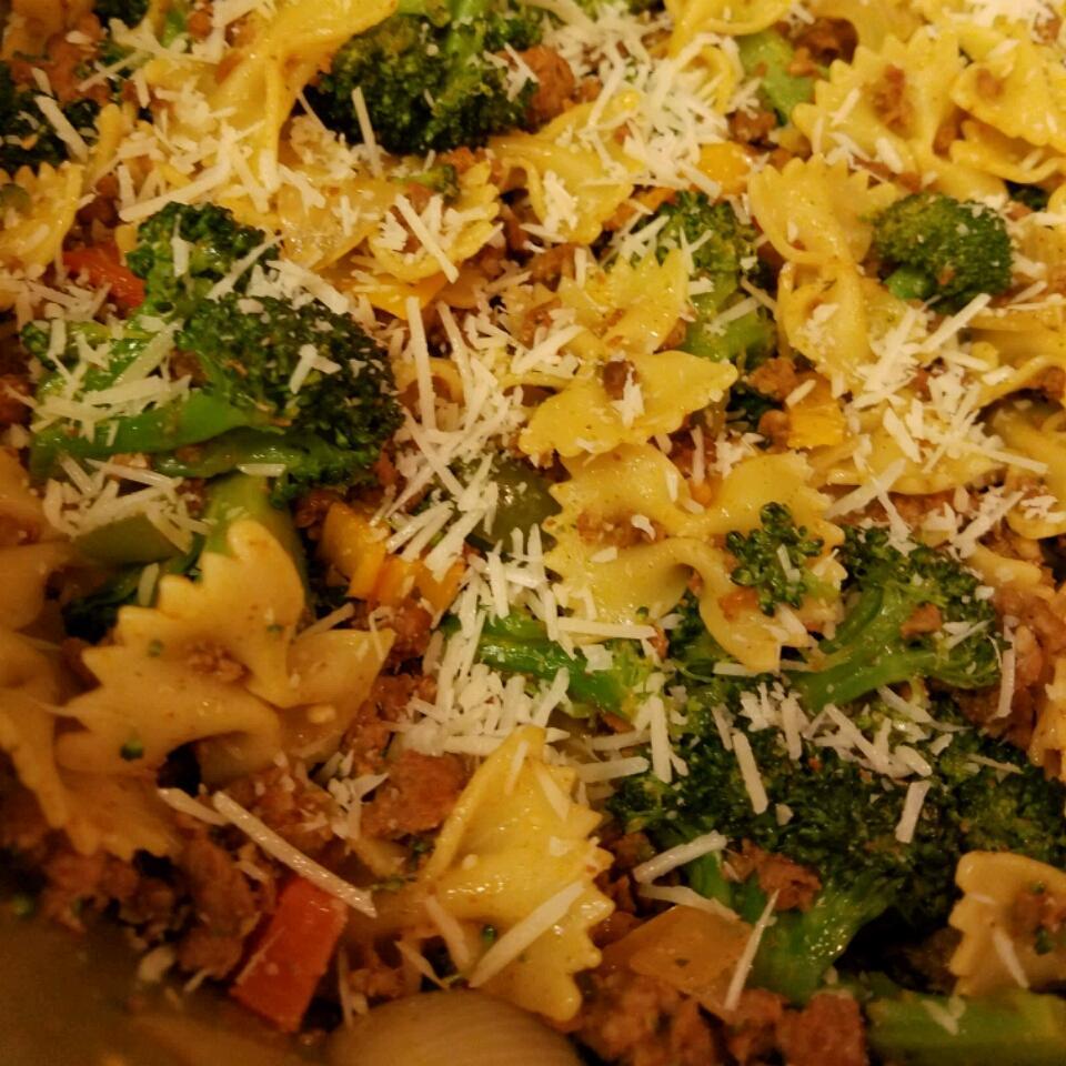 Chorizo and Broccoli Rabe Pasta