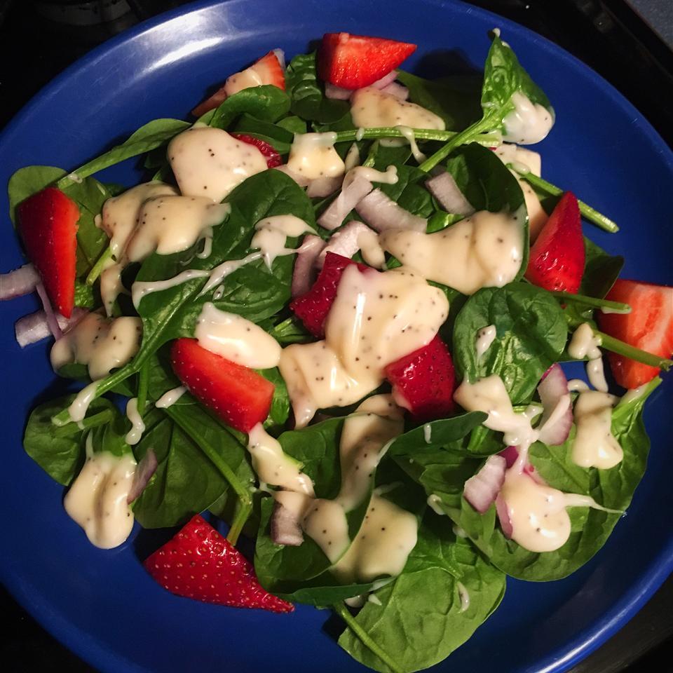 Strawberry Summer Salad Ashley DeBaets