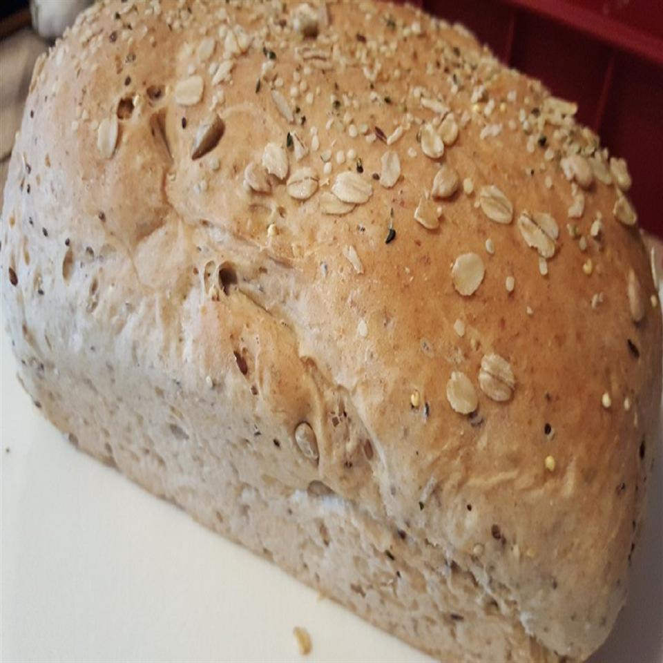 Hearty Multigrain Seeded Bread