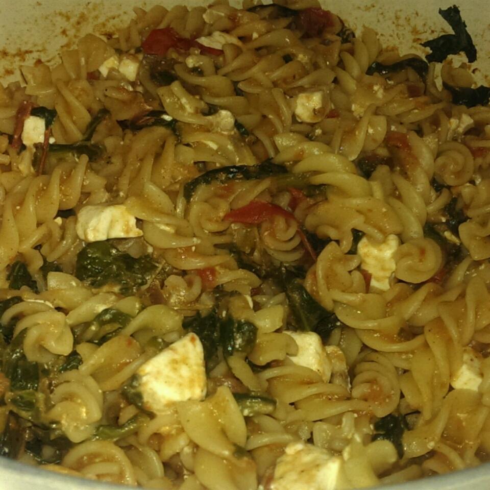 Suki's Spinach and Feta Pasta Ryan Otto