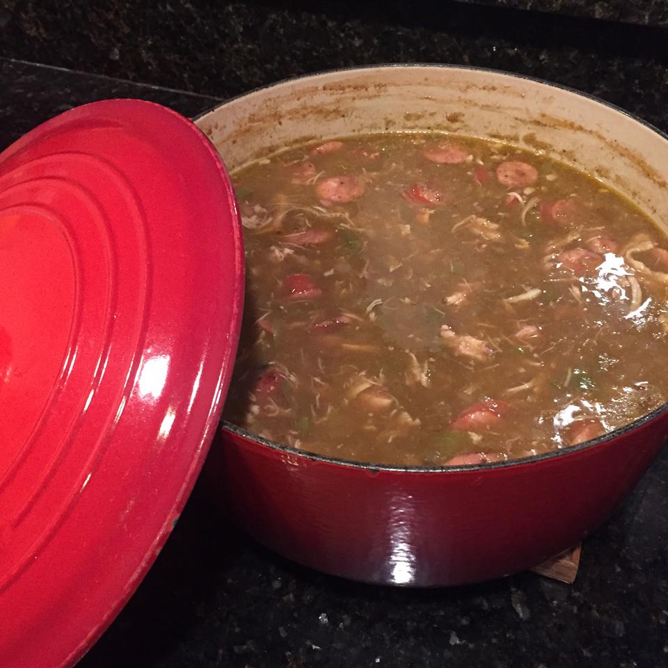 Dupre Family Chicken and Sausage Gumbo Crawfish