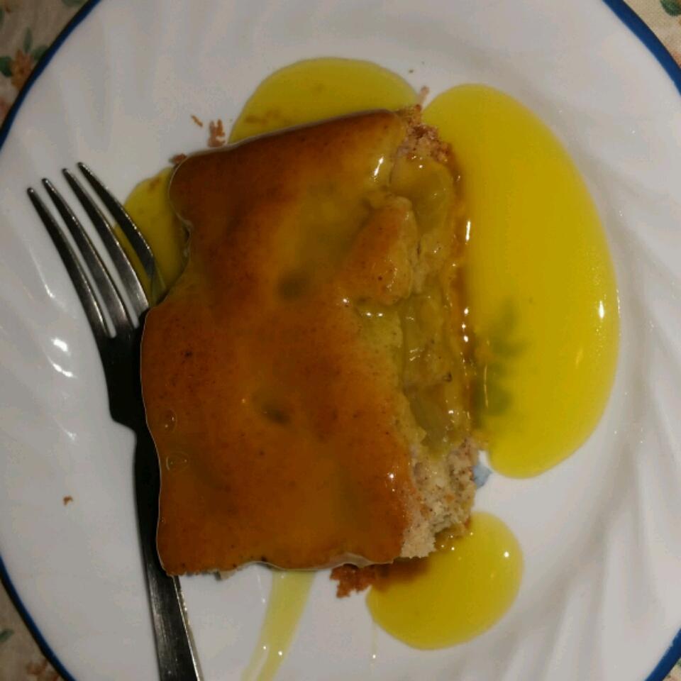 Rhubarb Spice Cake with Lemon Sauce Kathryn Pitner