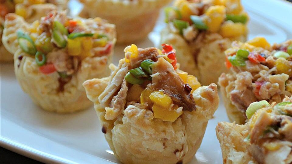 Sweet and Spicy Tuna Cups
