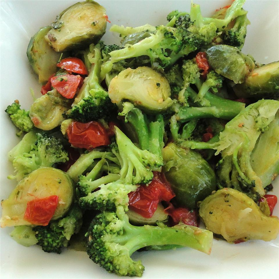 Broccoli and Brussels Sprout Delight SHORECOOK