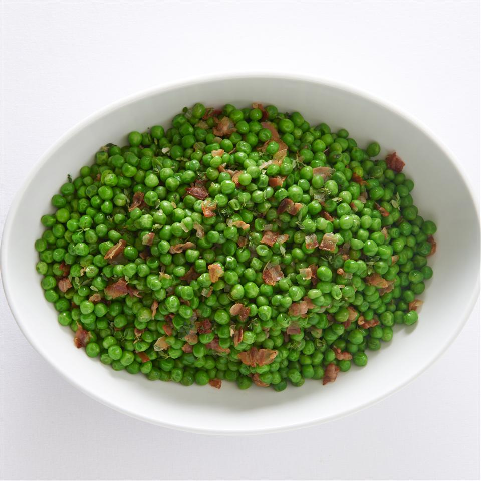 Peas and Pancetta