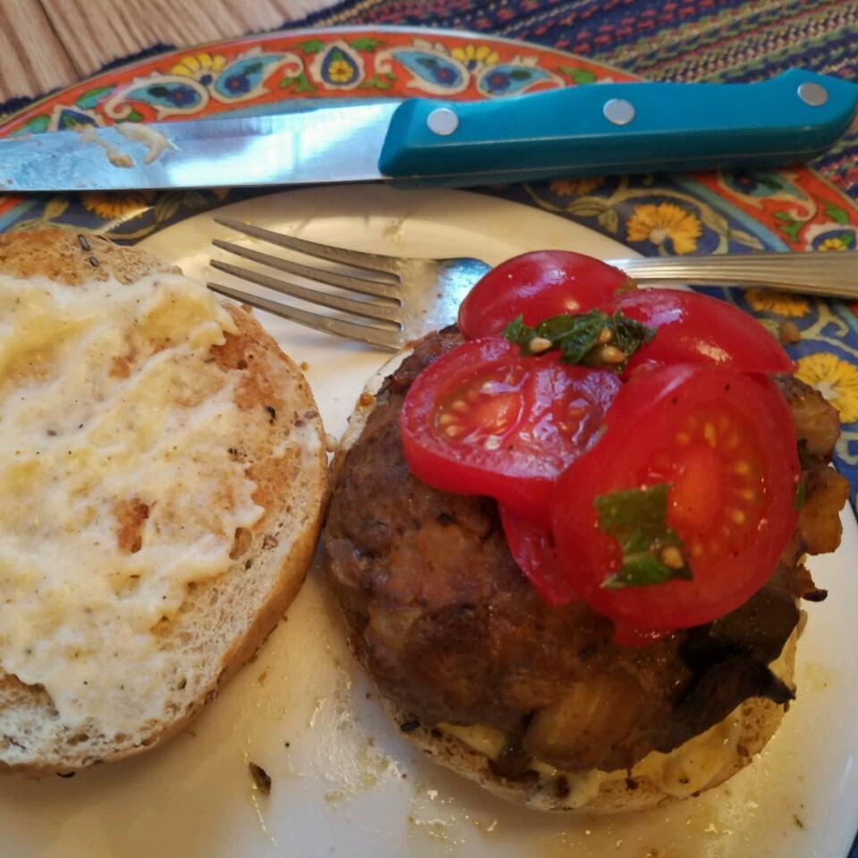 Chef John's Lamb Moussaka Burger Amanda SusieQ