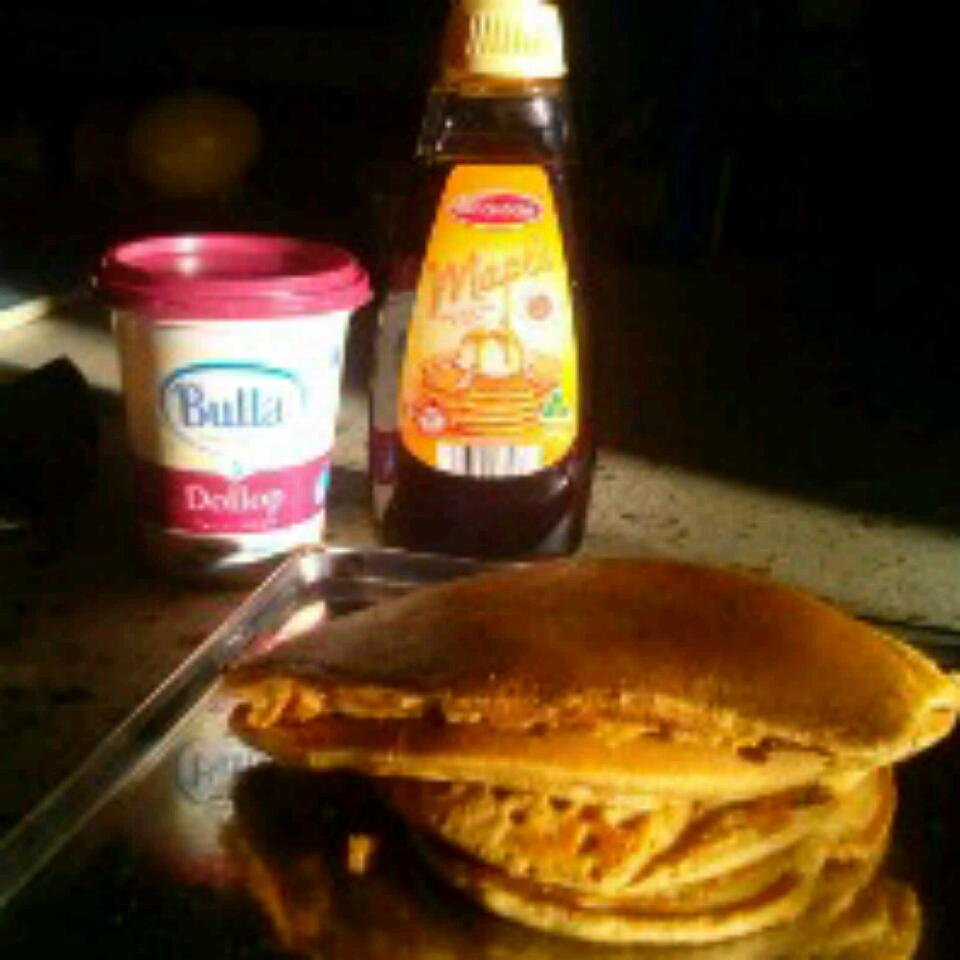 Whole Wheat Pancakes from Scratch Va Loki