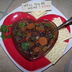 Spicy Black Bean Soup Soup Loving Nicole