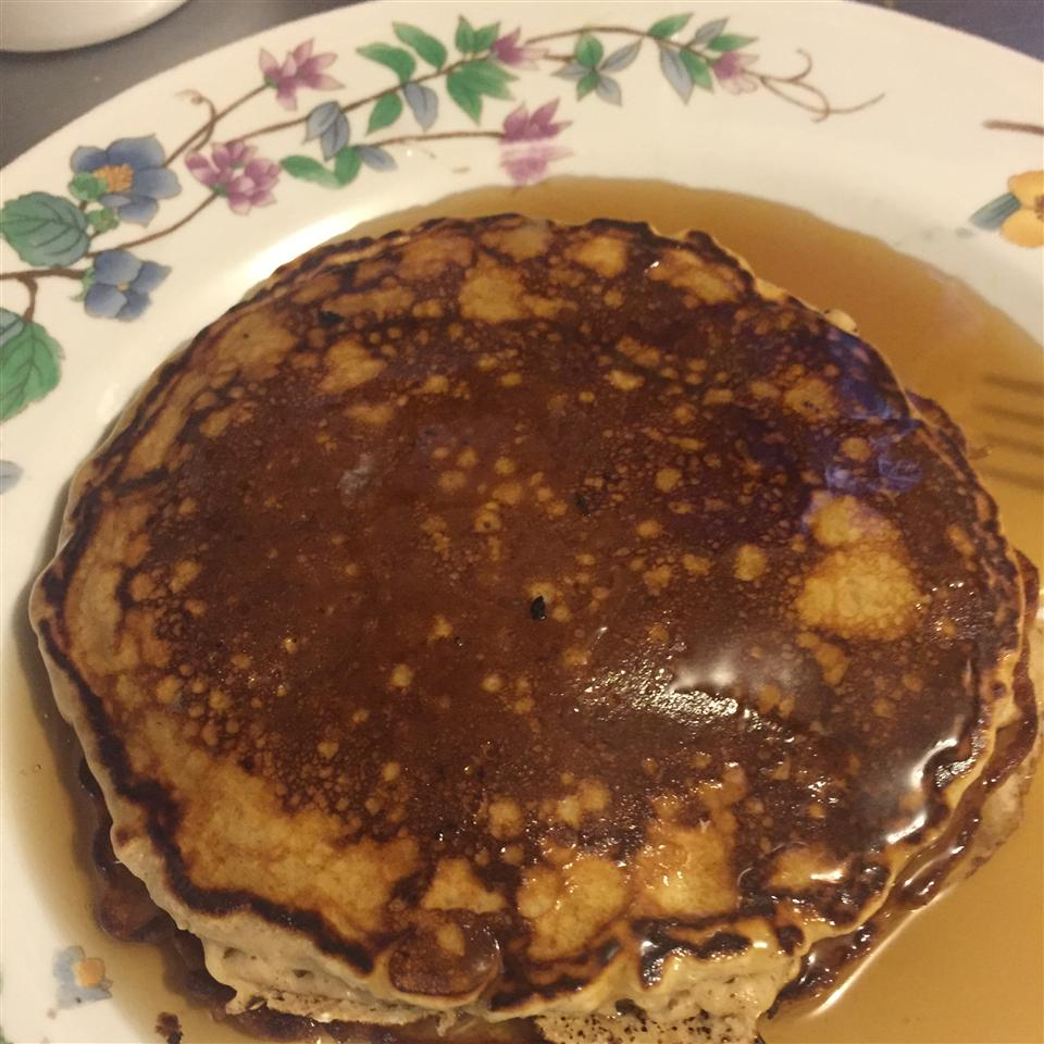 Quick Oatmeal Pancakes