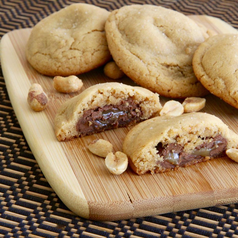 Peanut Surprise Cookies