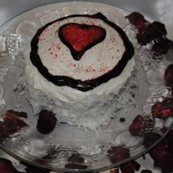 Ravishing Red Velvet Cake Mrs. CJR