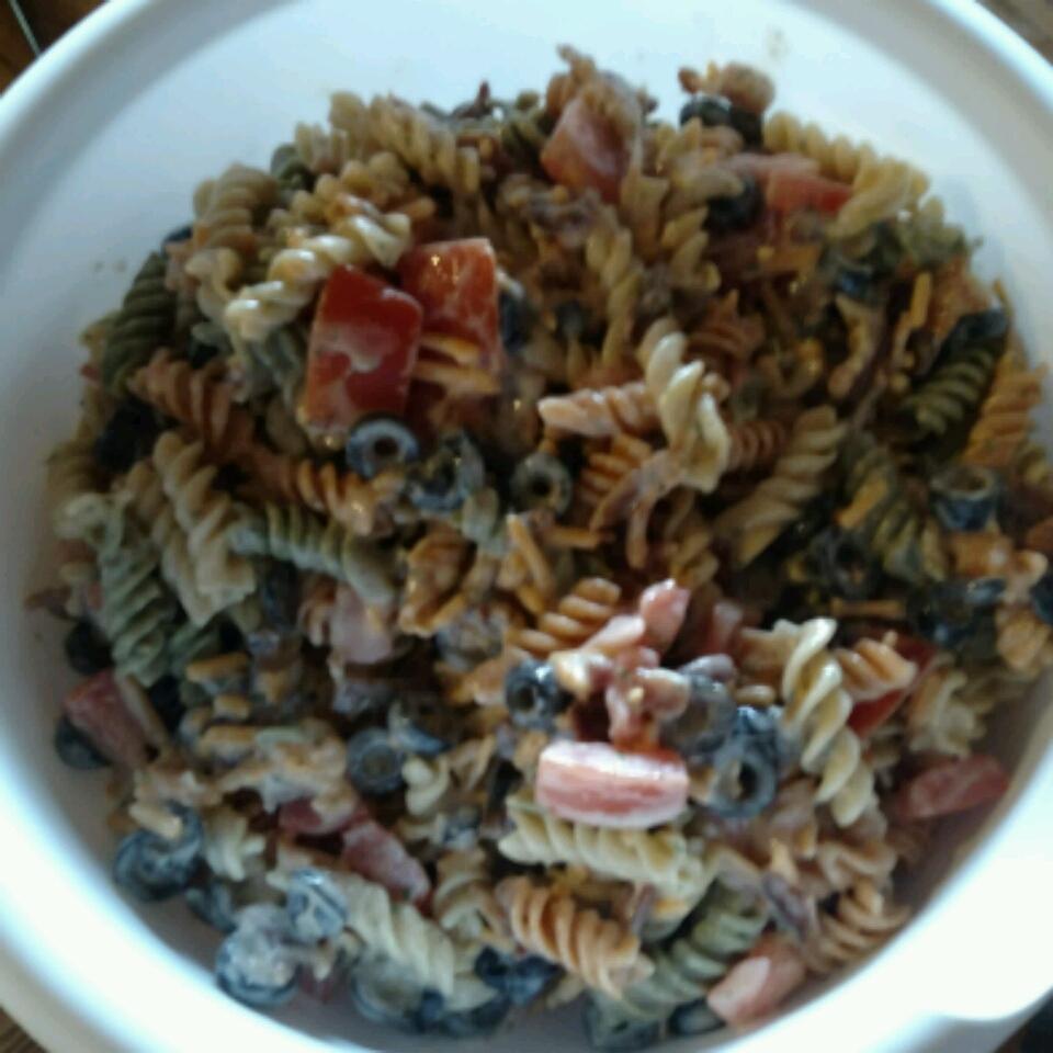Bacon Ranch Pasta Salad Bucket Avenue