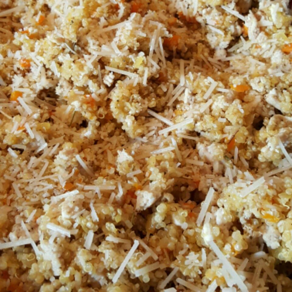 Quinoa with Ground Turkey