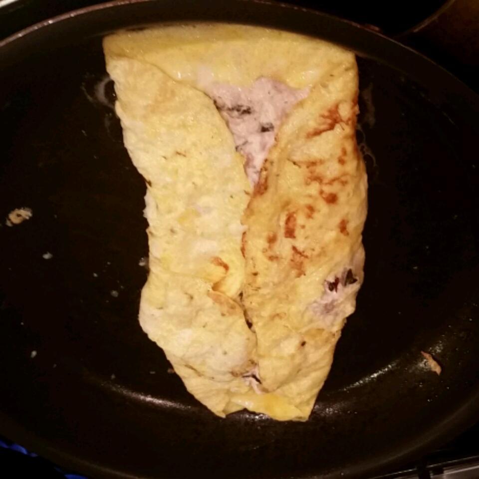 Tuna Cream Cheese Omelet Louis Nemec