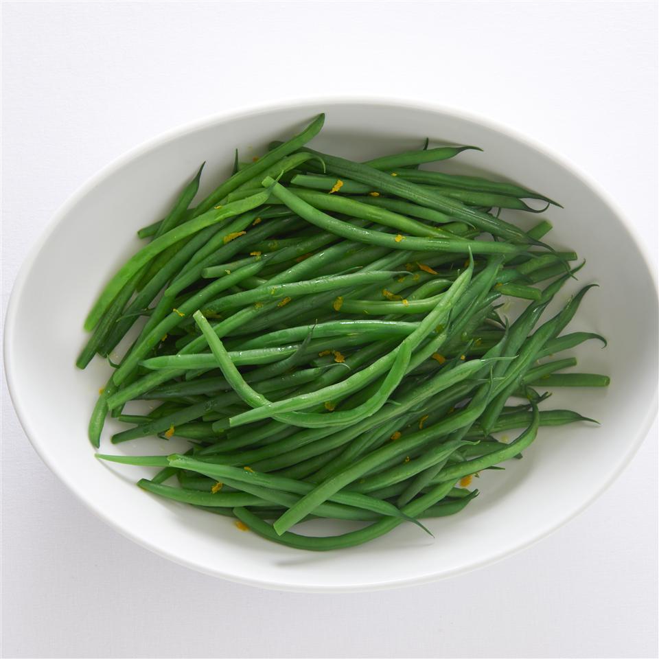 Green Beans With Orange Olive Oil Allrecipes Magazine