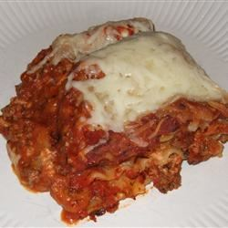 Simply Traditional Lasagna MamaToNikolas