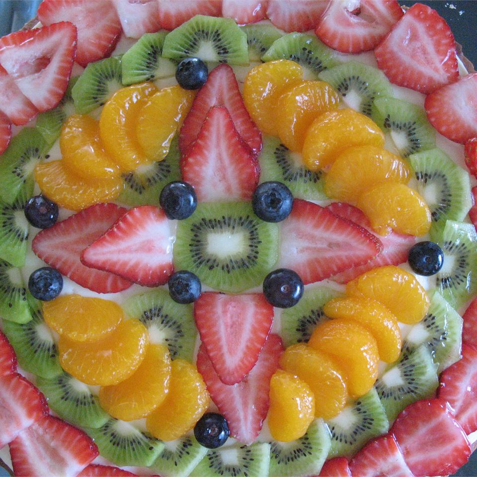 Fruit Pizza with White Chocolate 4LEA