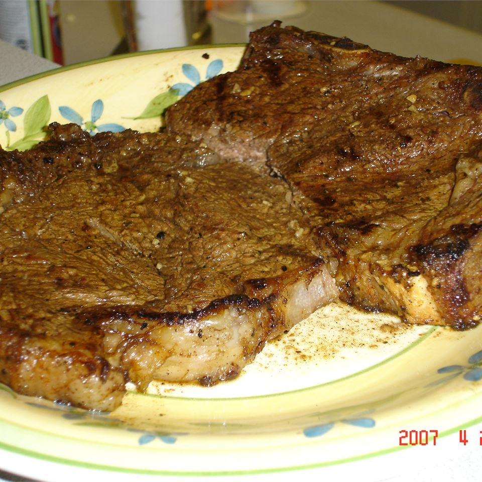 BBQ NY Strip