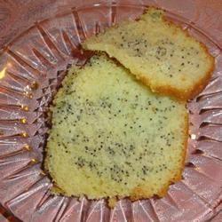 Poppy Seed Bundt Cake II