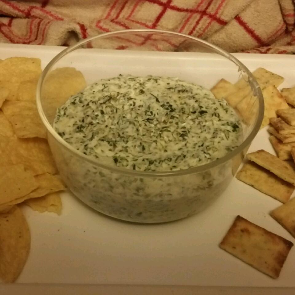 Hot Asiago and Spinach Dip krazyraine