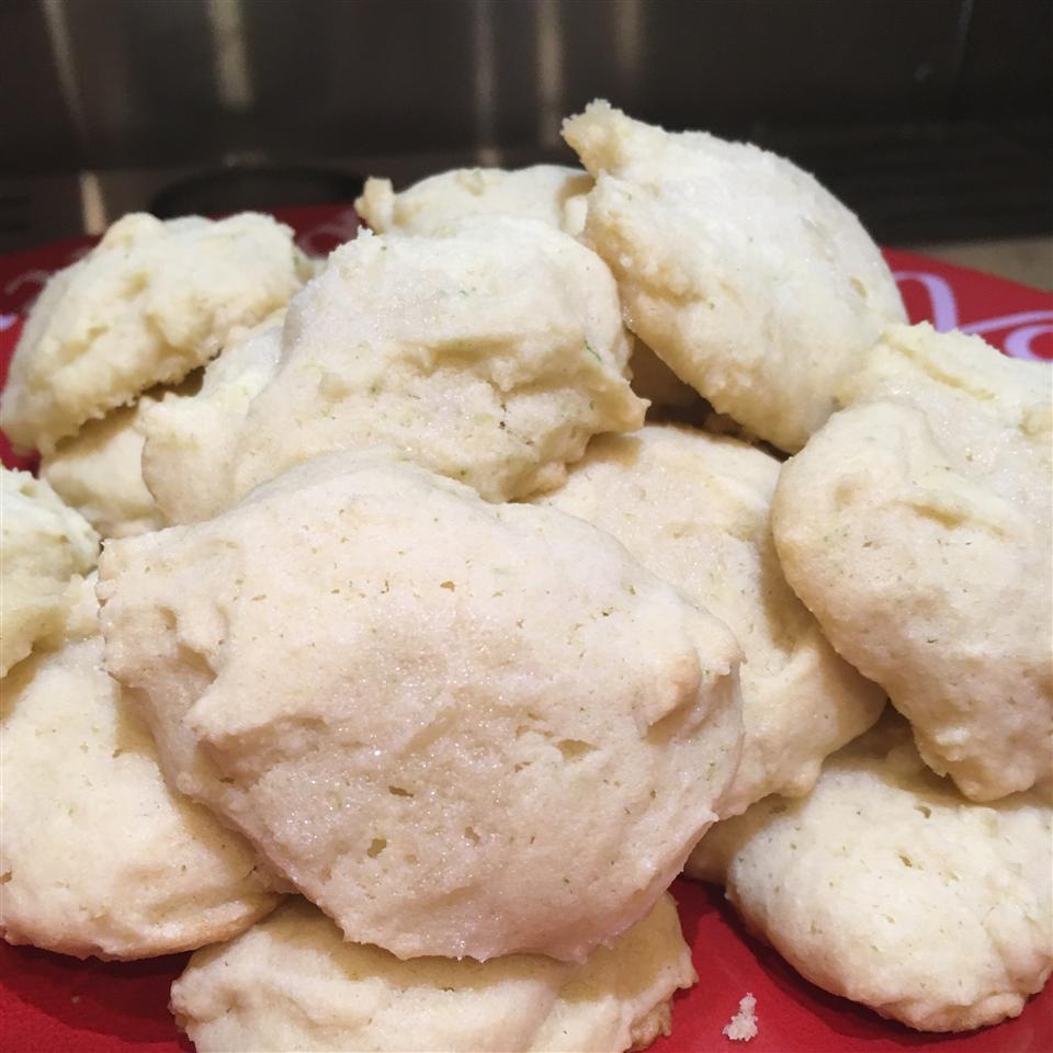 Spring Lime Tea Cookies