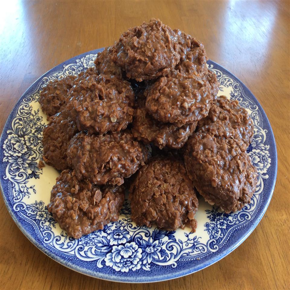 No-Bake Nutella® Oatmeal Cookies