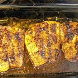 Cajun Blackened Redfish DEENCAROLH