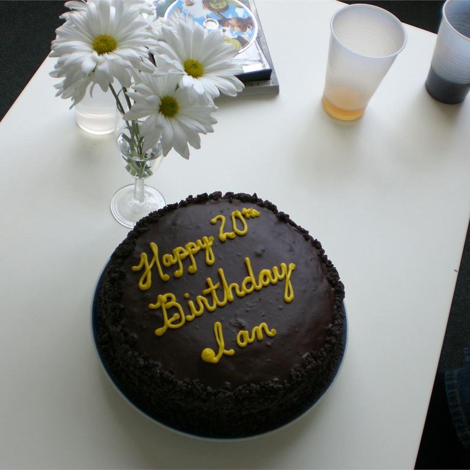 Black Chocolate Cake
