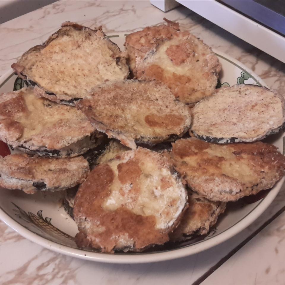Baked Fried Eggplant