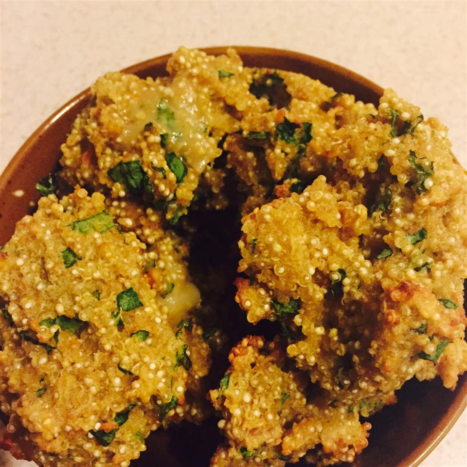 Mini Baked Quinoa Patties
