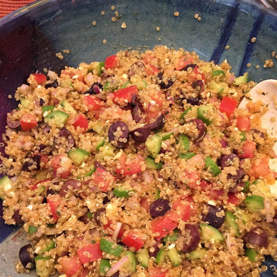 Best Greek Quinoa Salad Jesselulu
