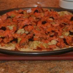 Smoked Salmon Pizza BreeL