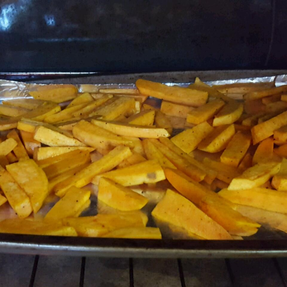 Oven Baked Sweet Potato Fries AMF