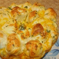 Garlic Parmesan Monkey Bread