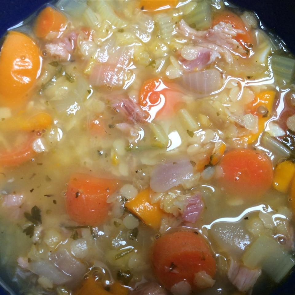 Leslie's Ham Lentil Soup