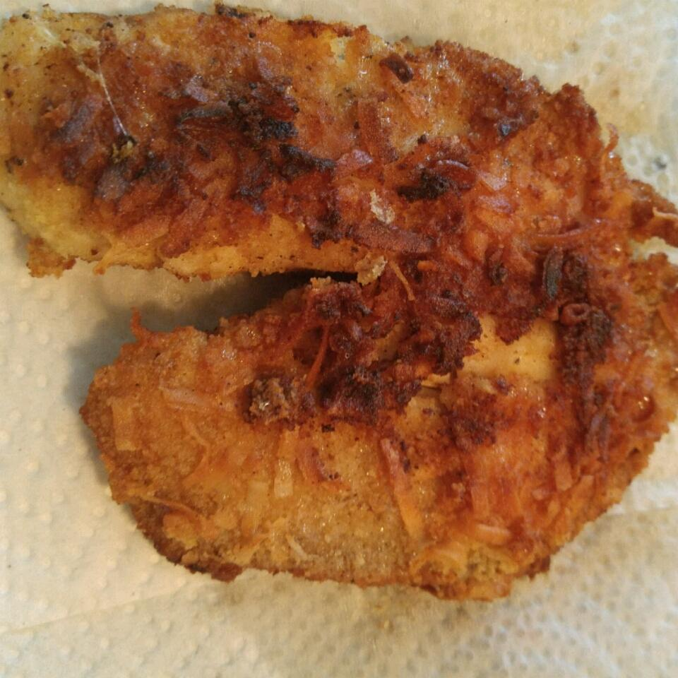 Coconut-Crusted Tilapia (Paleo) Lil' Bit