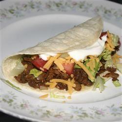 Tasty Lentil Tacos ChristineM