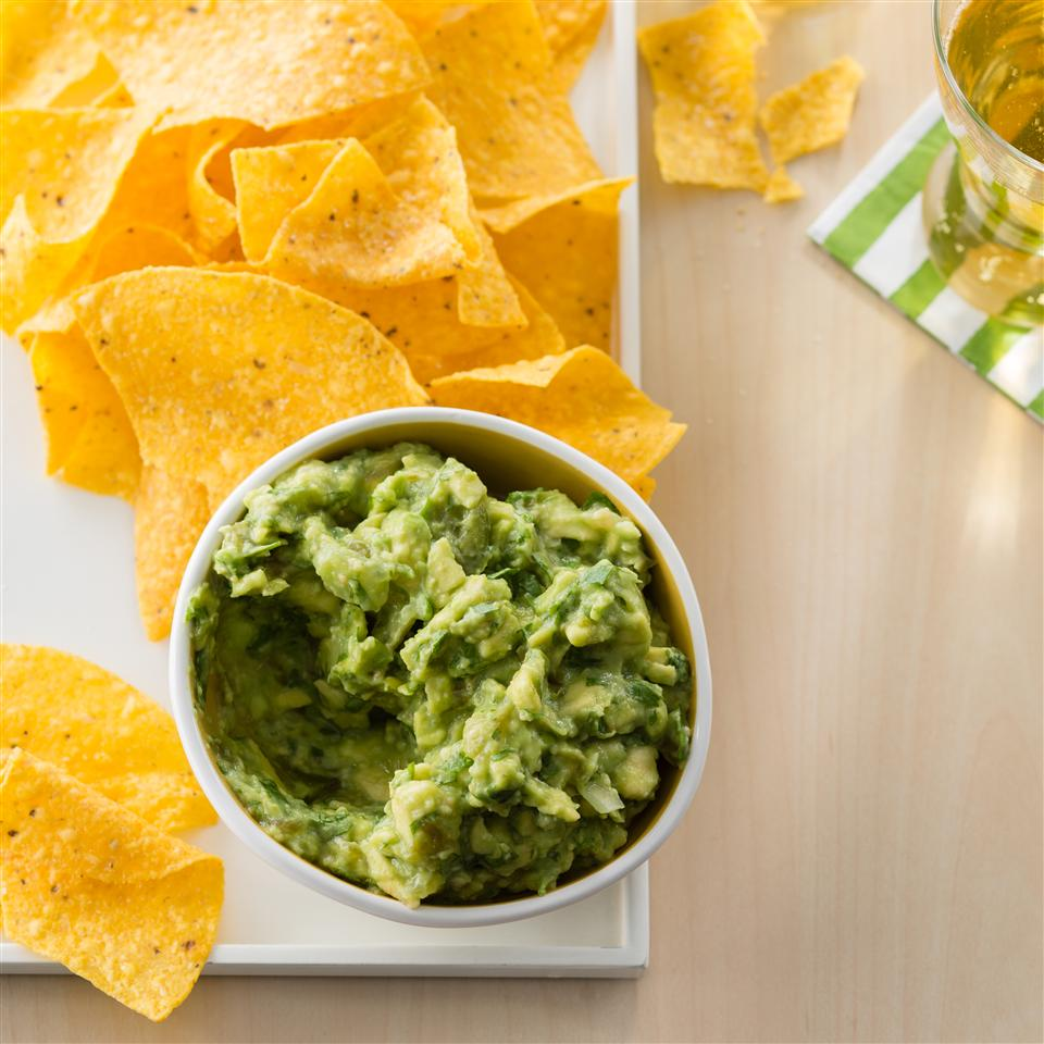 Avocado-Tomatillo Dip with Jalapenos and Cilantro