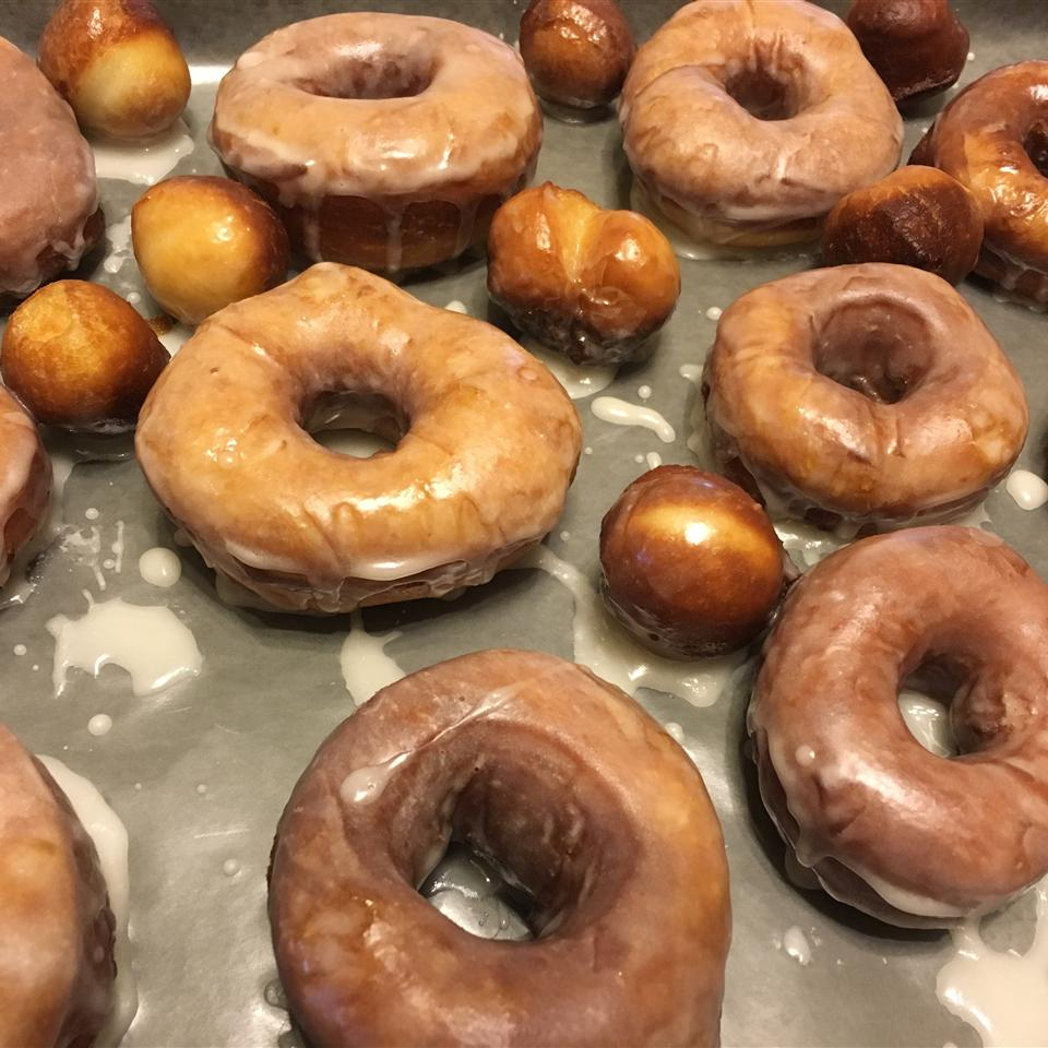Glazed Yeast Doughnuts Sandy