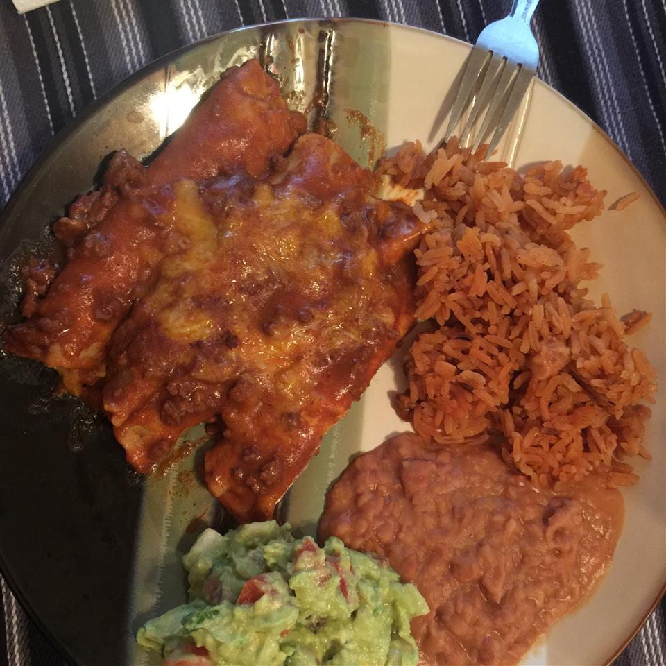 Tex-Mex Beef and Cheese Enchiladas Sous-Chef Javier