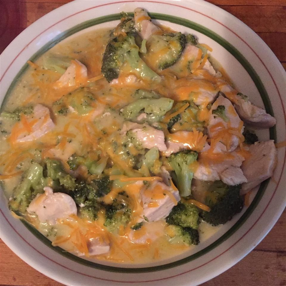 2-Step Skillet Chicken Broccoli Divan