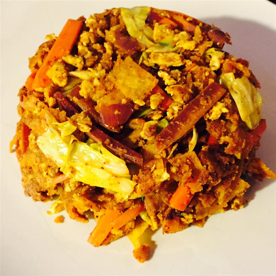 Vegetable Kottu Roti