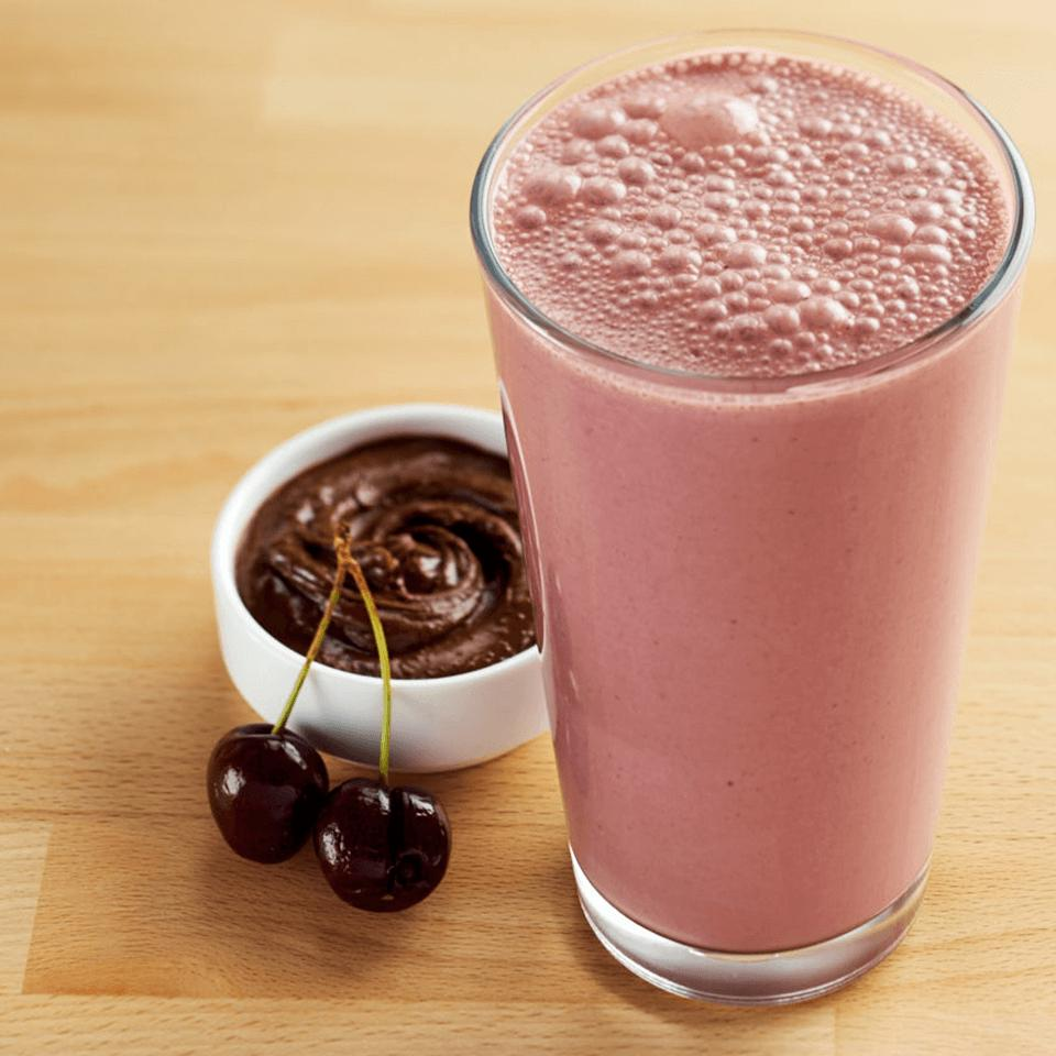 Chocolate Cherry Peanut Butter Smoothie